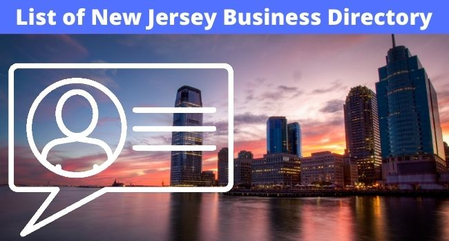 List of New Jersey Business Directory